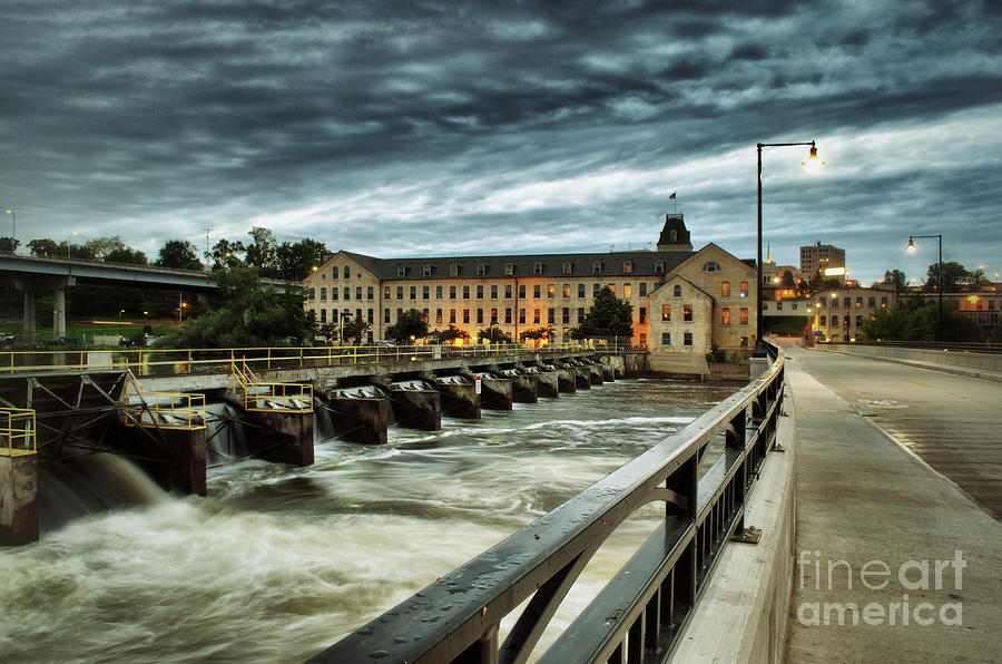 Appleton Photograph - An Evening Down In The Flats by Ever-Curious Photography