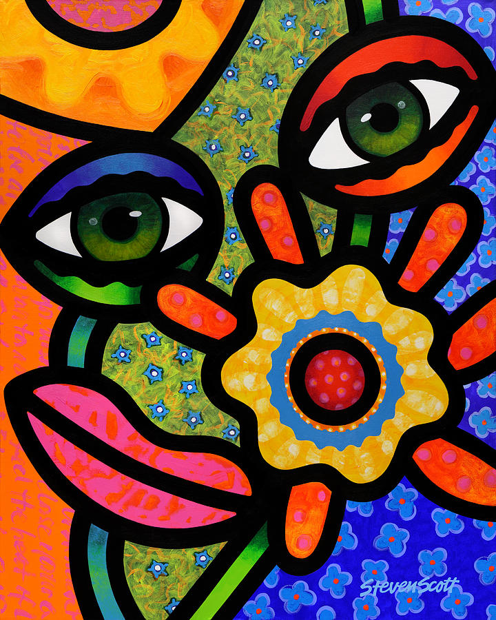 An Eye On Spring Painting