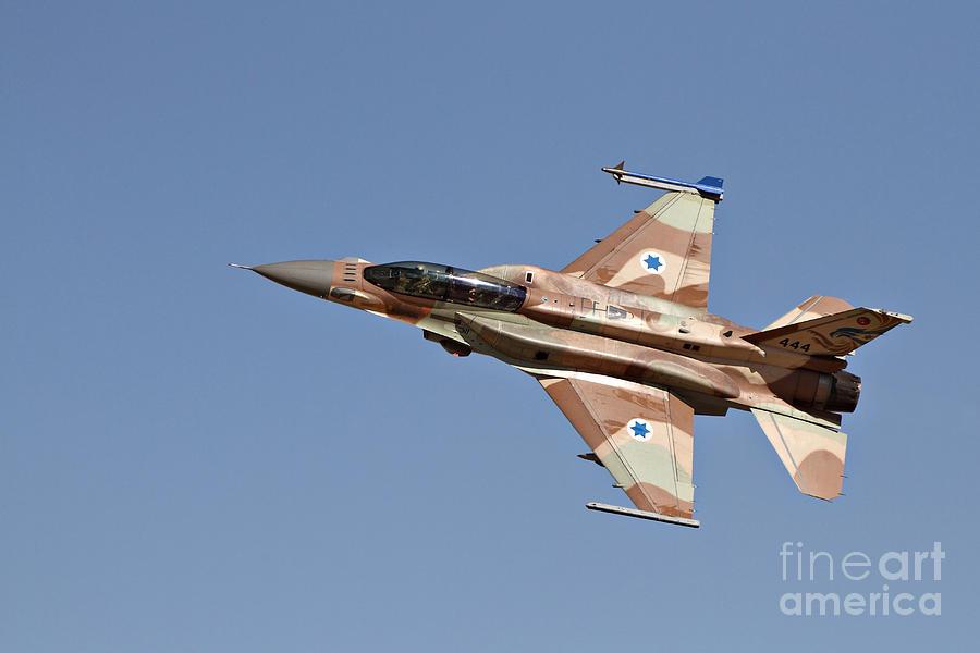 An F-16i Sufa Of The Israeli Air Force Photograph