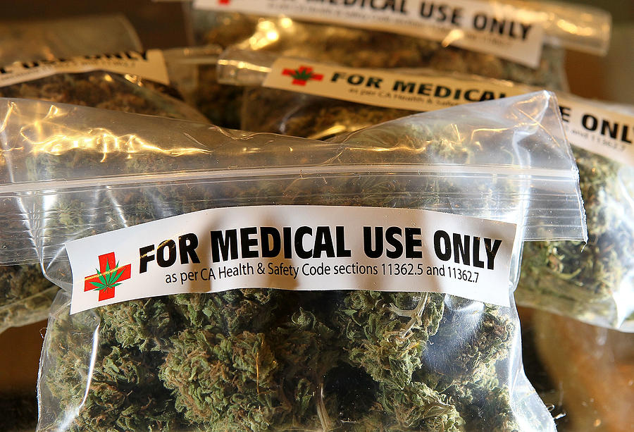 An Initiative To Legalize Marijuana In California To Appear On Nov. Ballot Photograph by Justin Sullivan