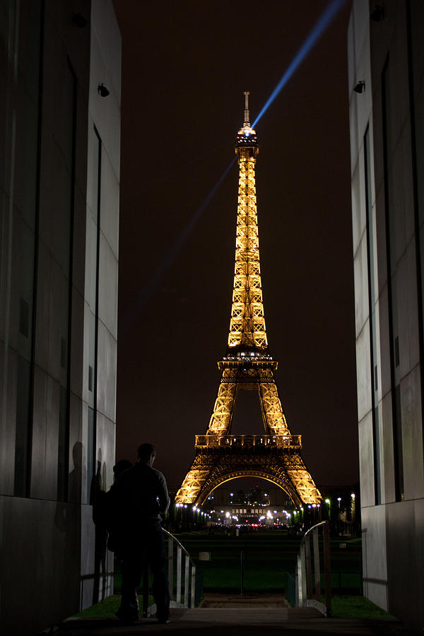 Eiffel Photograph - An Intimate Moment With Eiffel by John Daly