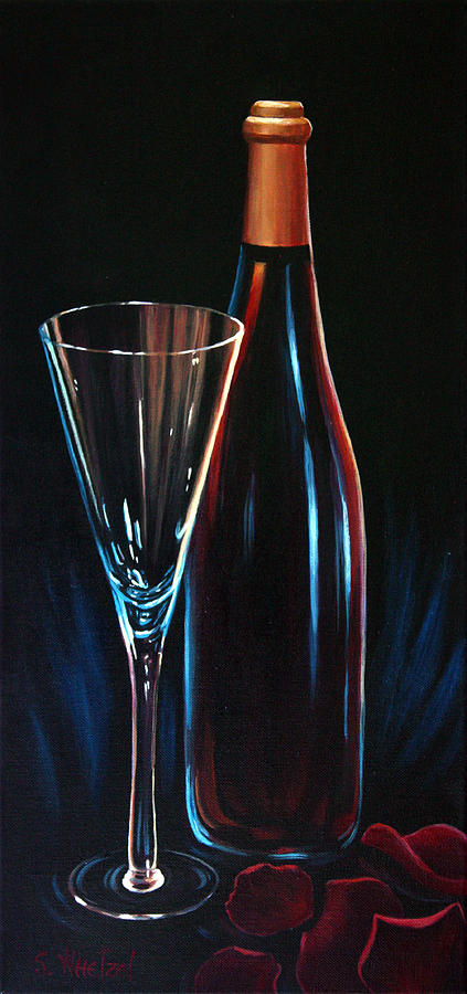 Elegant Painting - An Invitation To Romance by Sandi Whetzel