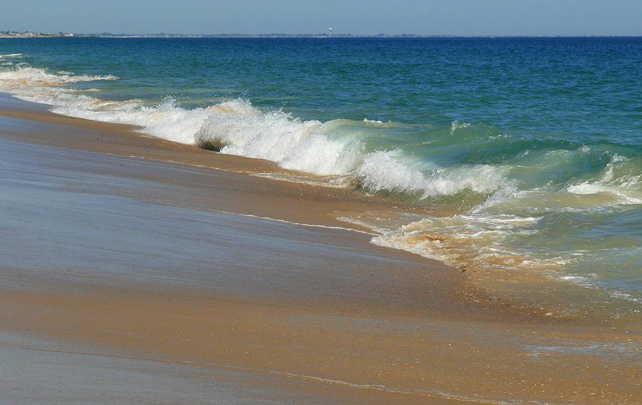Ocean Photograph - An Ocean View  by Neal Eslinger