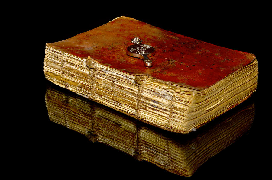 Spirituality Photograph - An Old Bible by Tommytechno Sweden