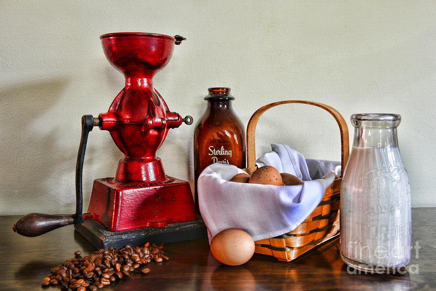Paul Ward Photograph - An Old Fashion Breakfast by Paul Ward