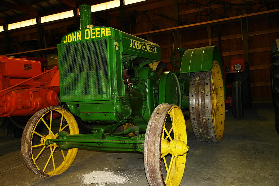 An Old Restored John Deere Photograph