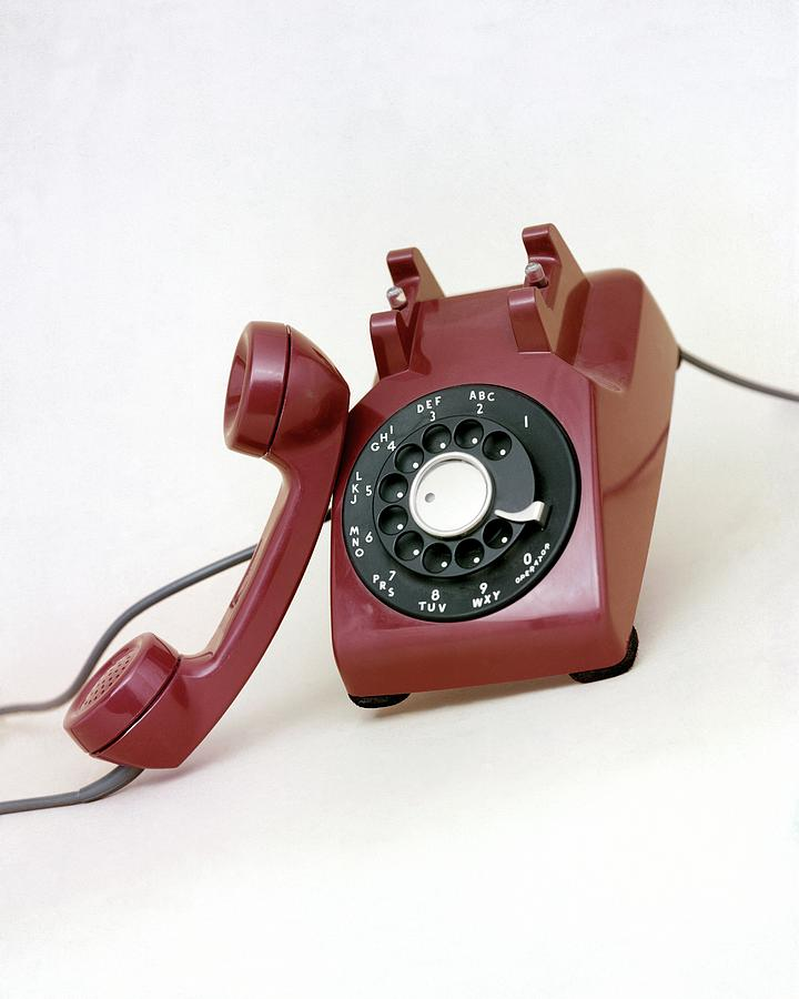An Old Telephone Photograph by Richard Rutledge