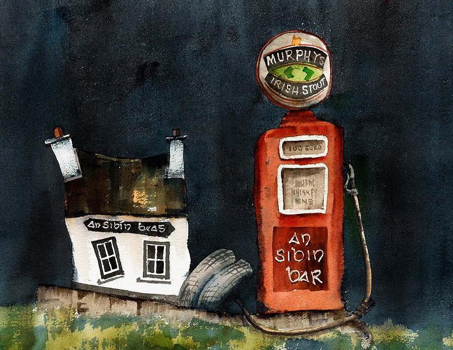 An Sibin Bar Lauragh Kerry by Val Byrne