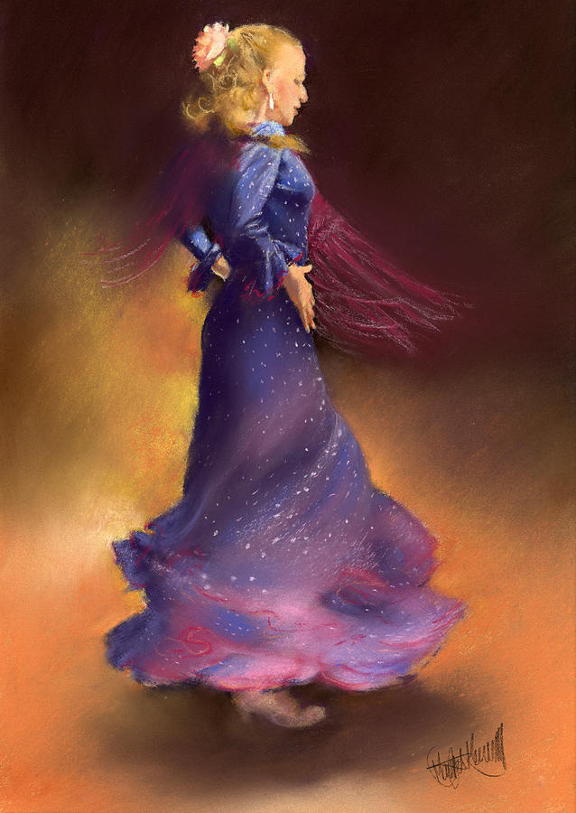Pastel Painting - Ana by Margaret Merry