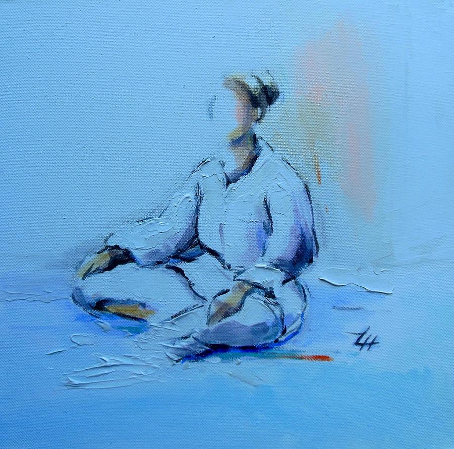 Karate Painting - Ana Shiro by Lucia Hoogervorst