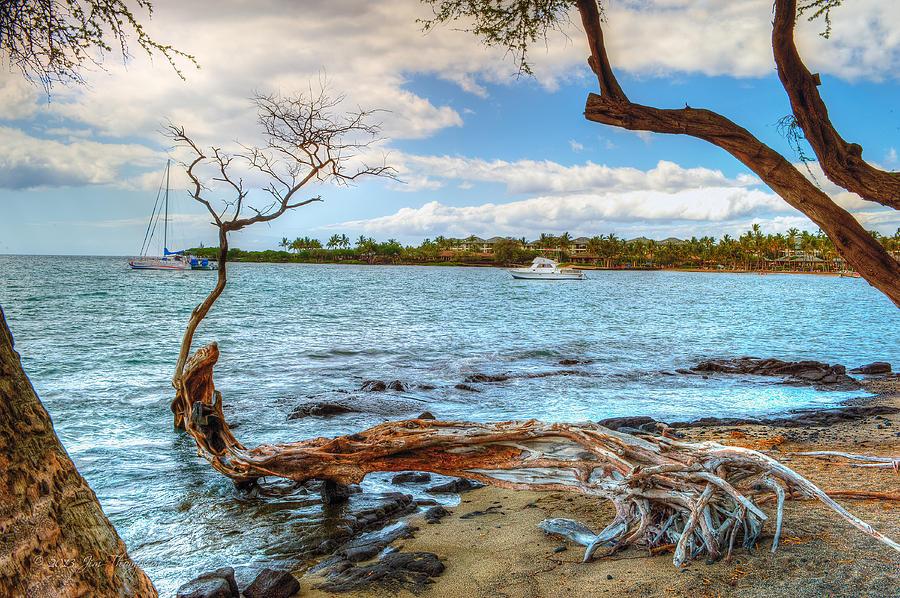Ocean Photograph - Anaehoomalu Bay by Jim Thompson