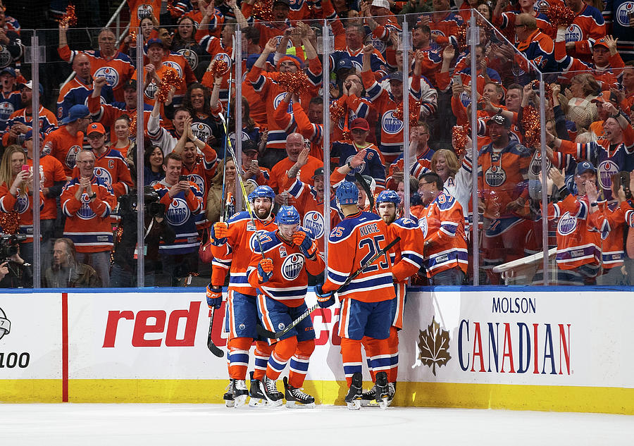 Anaheim Ducks V Edmonton Oilers - Game Photograph by Codie Mclachlan