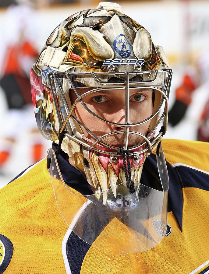 Anaheim Ducks V Nashville Predators Photograph by John Russell