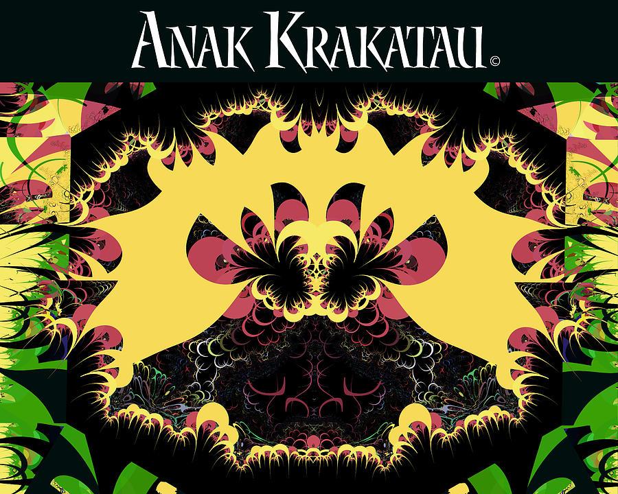 California Digital Art - Anak Krakatau - Child Of Krakatoa by Jim Pavelle