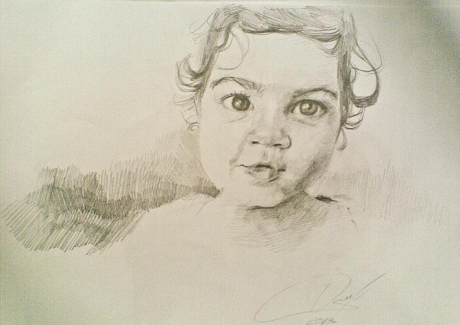 Anastasia Drawing by Vaidos Mihai