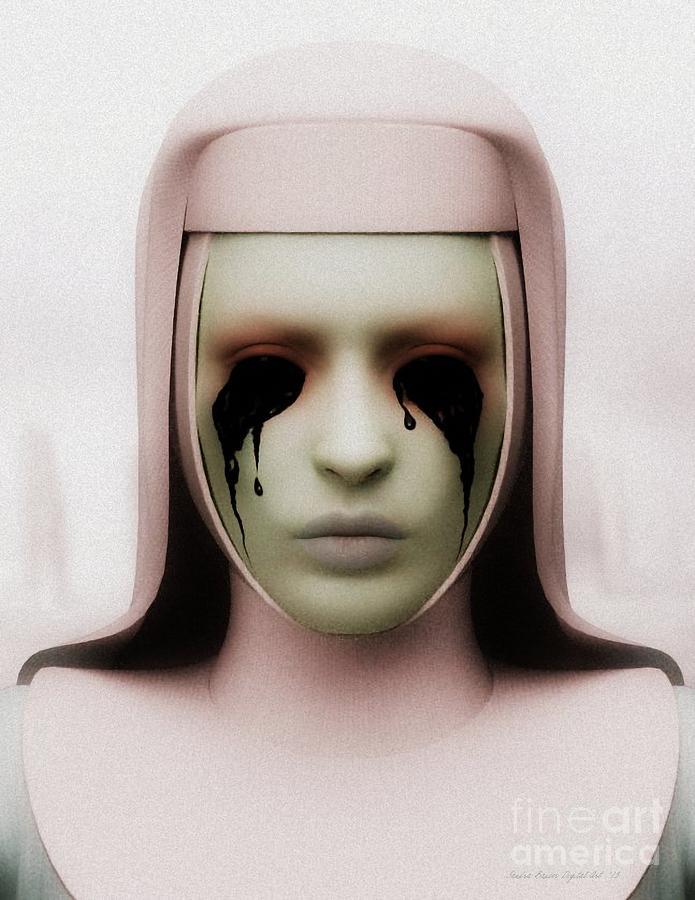Anathema Digital Art - Anathema by Sandra Bauser Digital Art