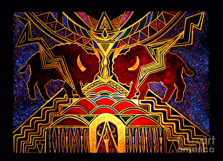 Invocation Painting - Ancestral Invocation by Susanne Still