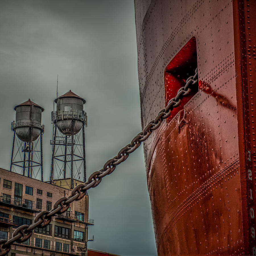 Ss William A Irvin Photograph - Anchor Chain by Paul Freidlund
