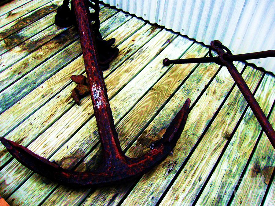 Photography Photograph - Anchor by Venus