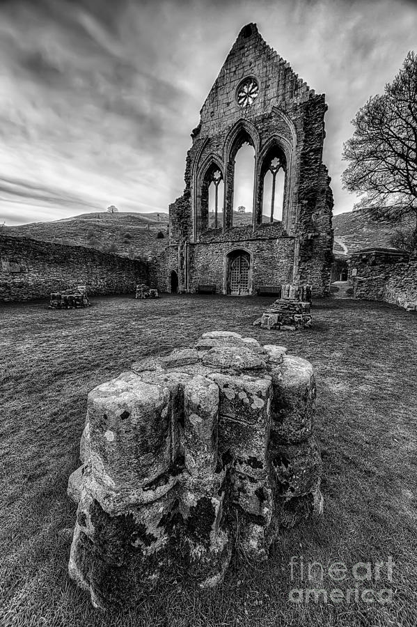 13th Century Photograph - Ancient Abbey by Adrian Evans