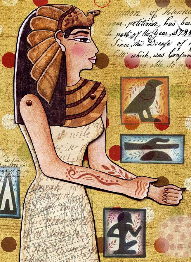 Egyptian Digital Art - Ancient Brands by Elaine Jackson