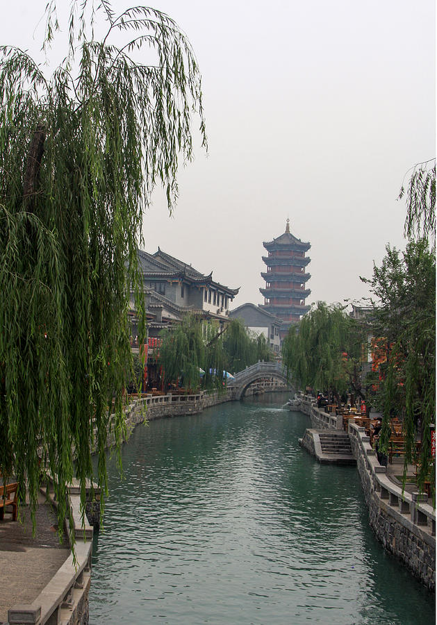 Ancient City Photograph - Ancient City by Qing