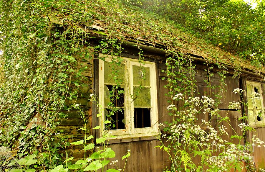 Window Photograph - Ancient Cottage by Rene Triay Photography
