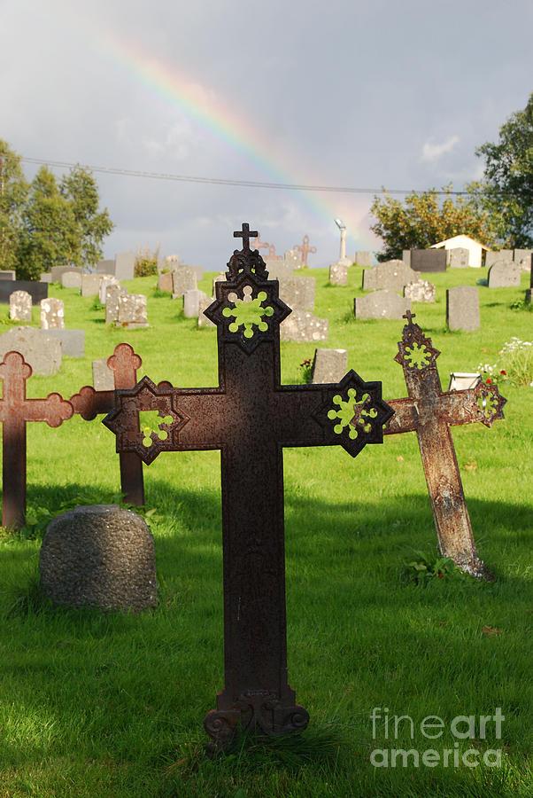 Ancient cross Rainbow blessing by Ankya Klay