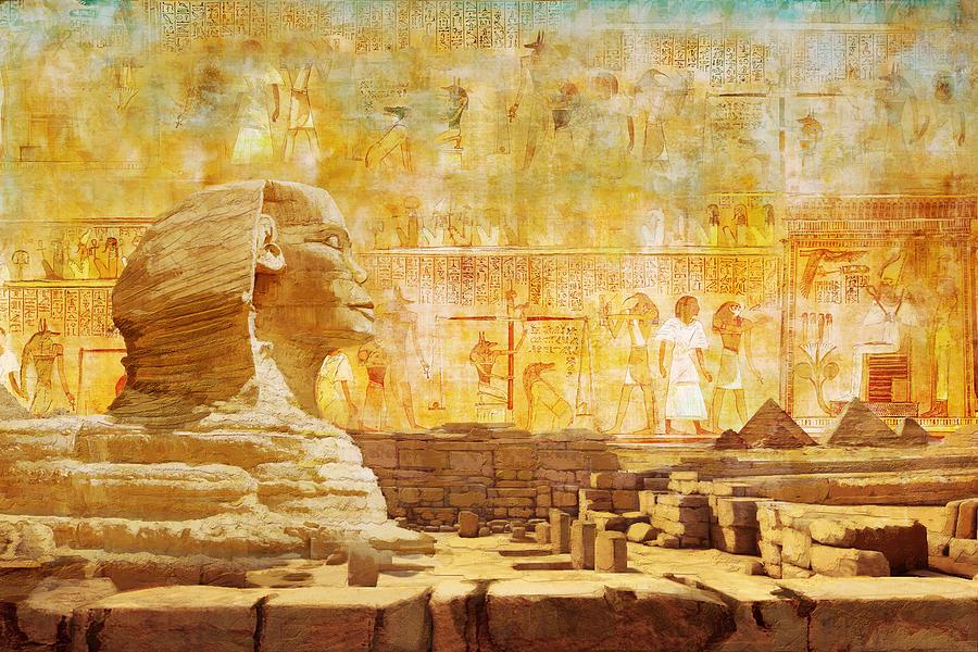 Ancient Egypt Civilization 08 Painting