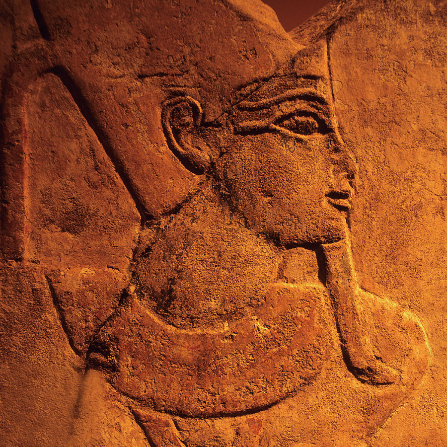 Ancient Egyptian Carving, Temple Of Photograph by Hisham Ibrahim