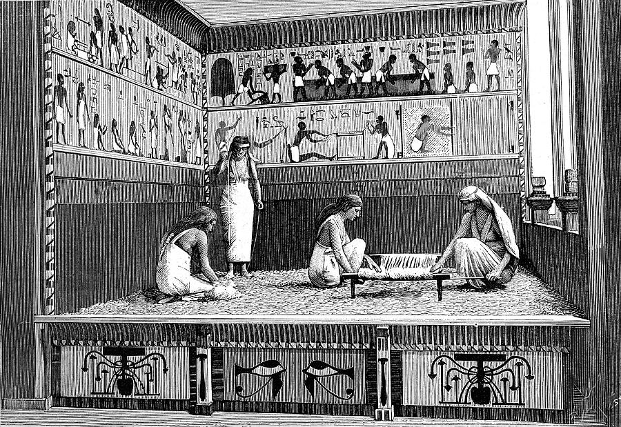 Ancient Egyptian Textile Workers