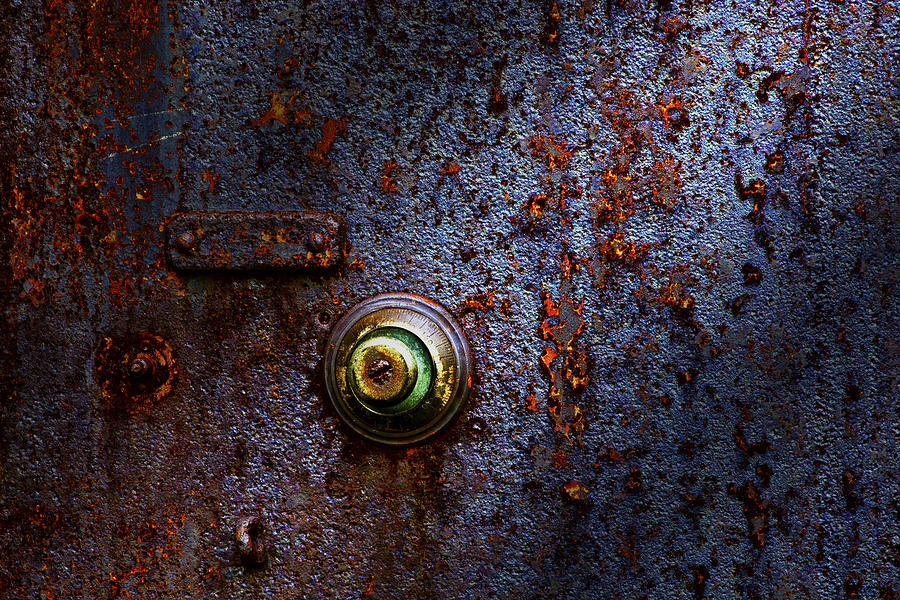 Abstract Photograph - Ancient Entry by Tom Mc Nemar