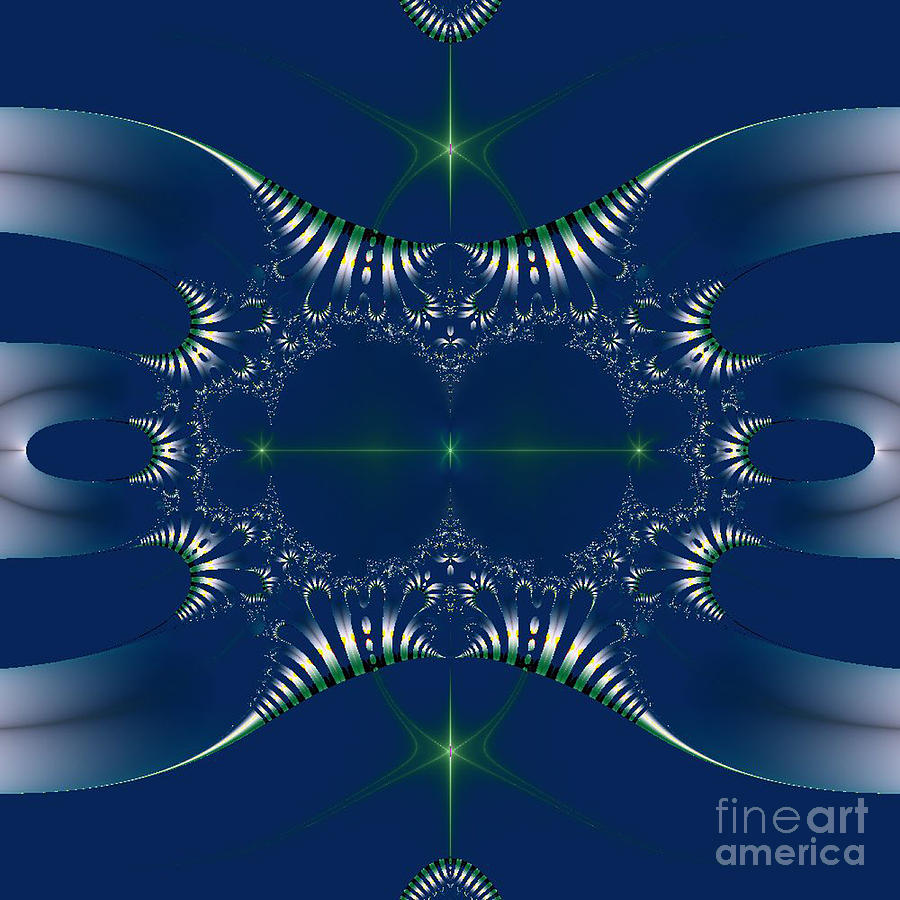 Matrix Digital Art - Ancient Evil Future by Maurice King