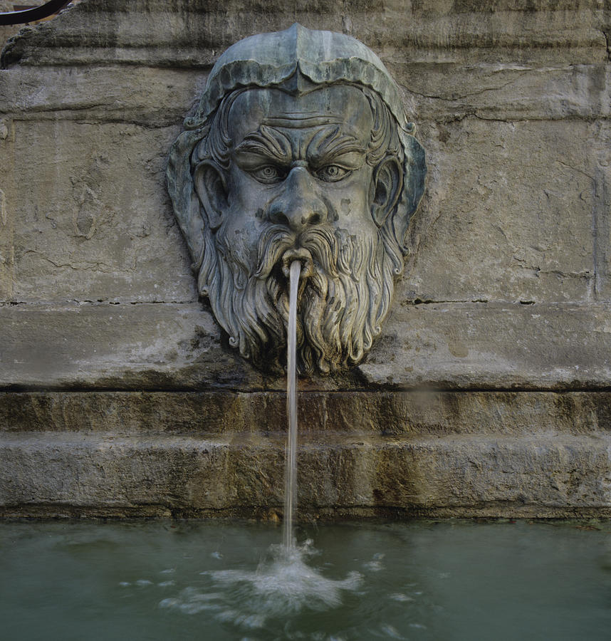 Italy Photograph - Ancient Fountain by Susan Rovira