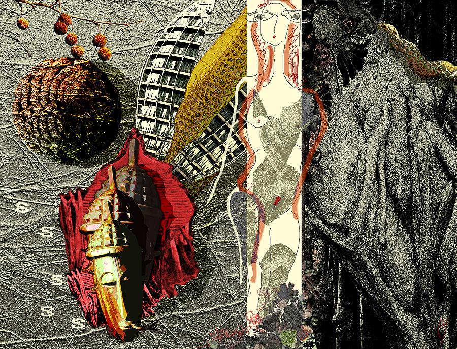 Eve Digital Art - Ancient History by Maria Jesus Hernandez