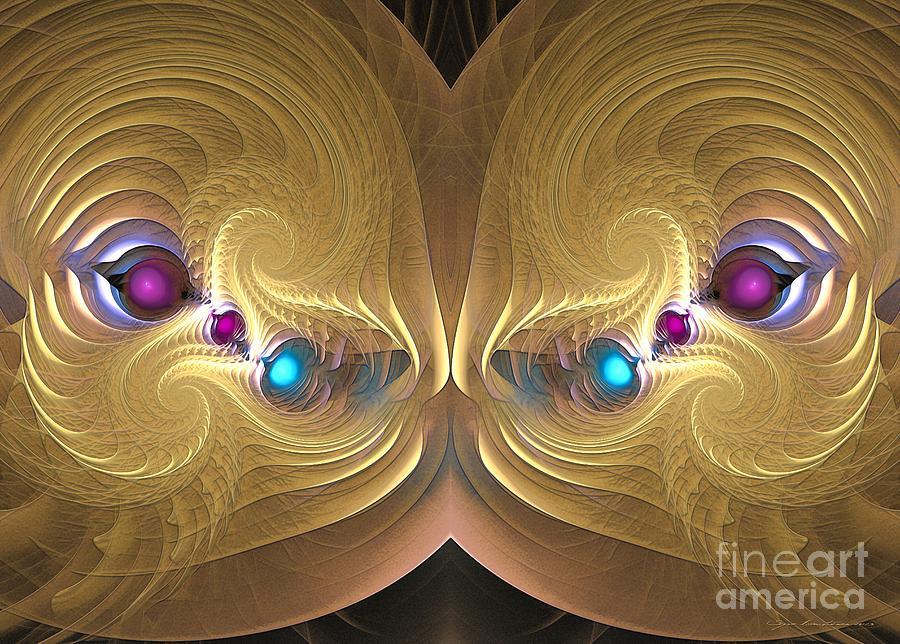 Surrealism Digital Art - Ancient Honey by Sipo Liimatainen