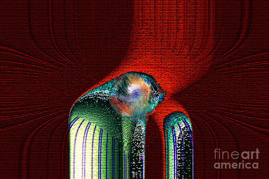 3d Digital Art - Ancient Memory Spirit Compassion by Rebecca Phillips