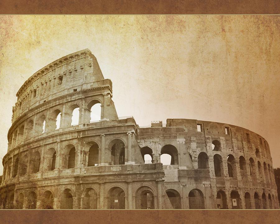 Ancient Roman Colosseum Photograph by Susanne Arens