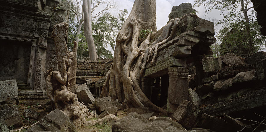 Timeless Photograph - Ancient Temples Of Angkor by Shaun Higson