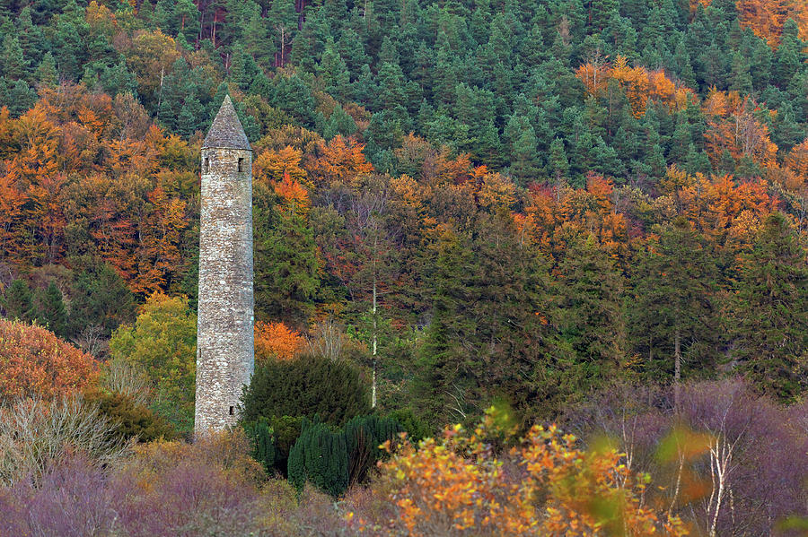 Scenic Photograph - Ancient Tower by Mammuth