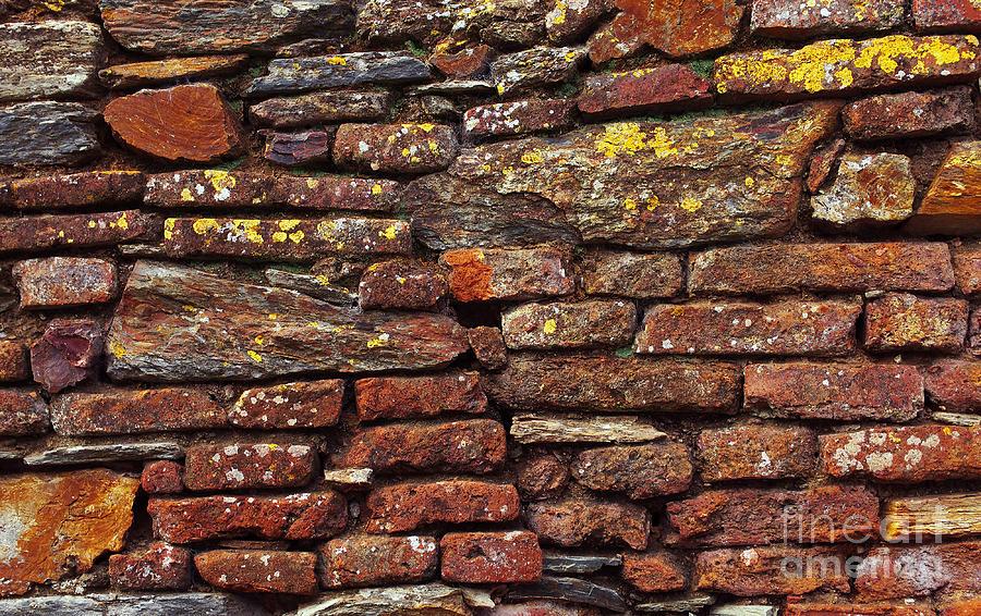 Aged Photograph - Ancient Wall by Carlos Caetano