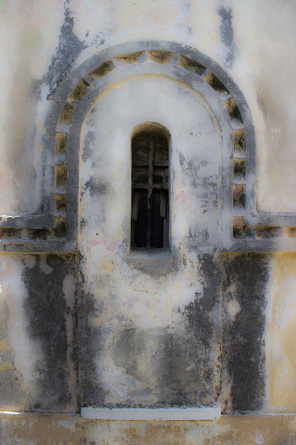 Background Photograph - Ancient Window by Radoslav Nedelchev