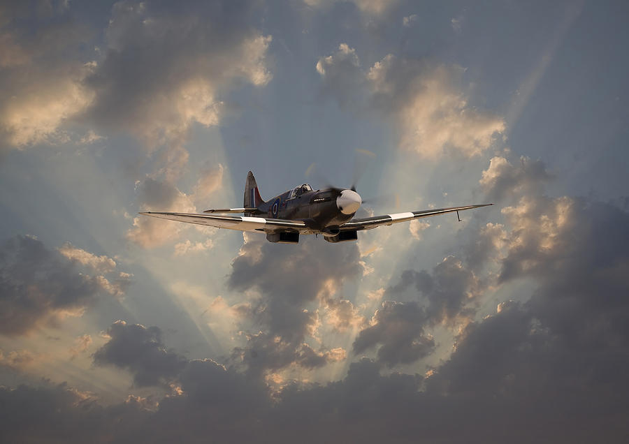 Aircraft Digital Art - And Comes Safe Home by Pat Speirs