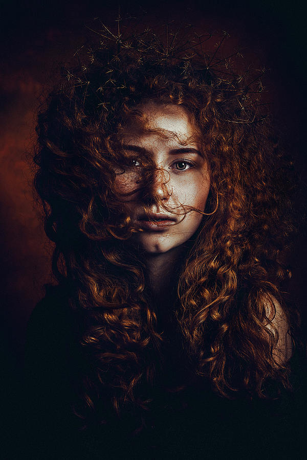 Red Hair Photograph - And God Said, Let There Be Redheads by Ruslan Bolgov (axe)
