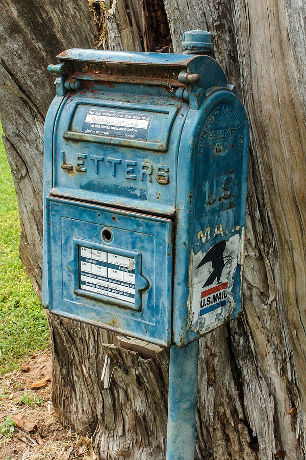 Mailbox Photograph - And Thats All She Wrote by Hannah Miller