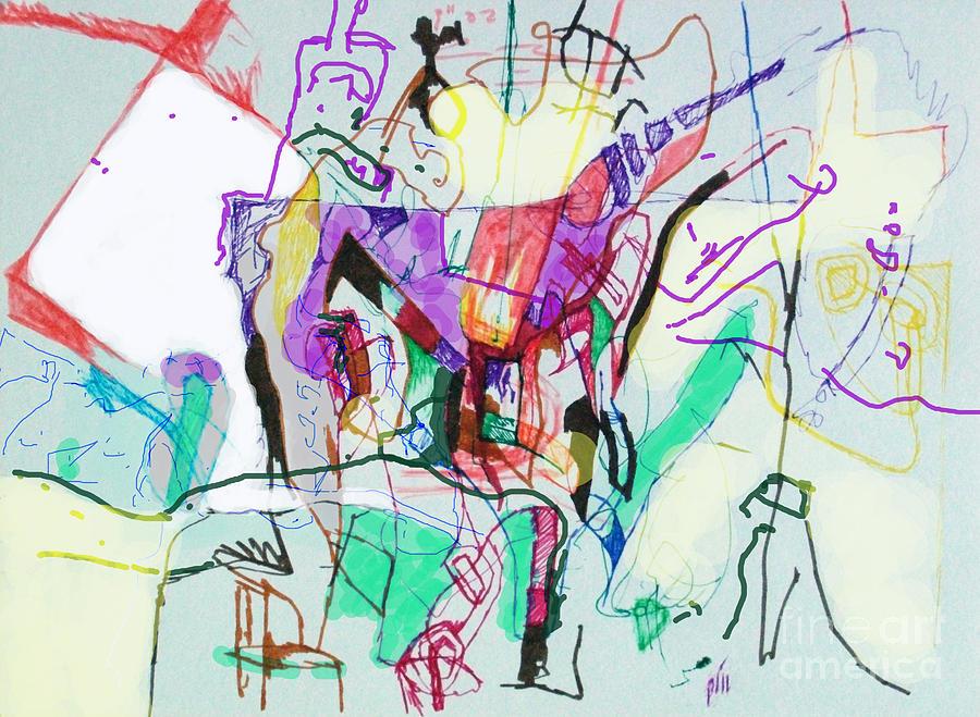 Torah Digital Art - And The Man Looked In Wonderment by David Baruch Wolk