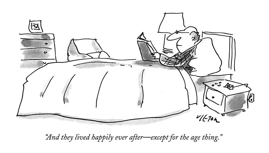 And They Lived Happily Ever After - Drawing by Dean Vietor