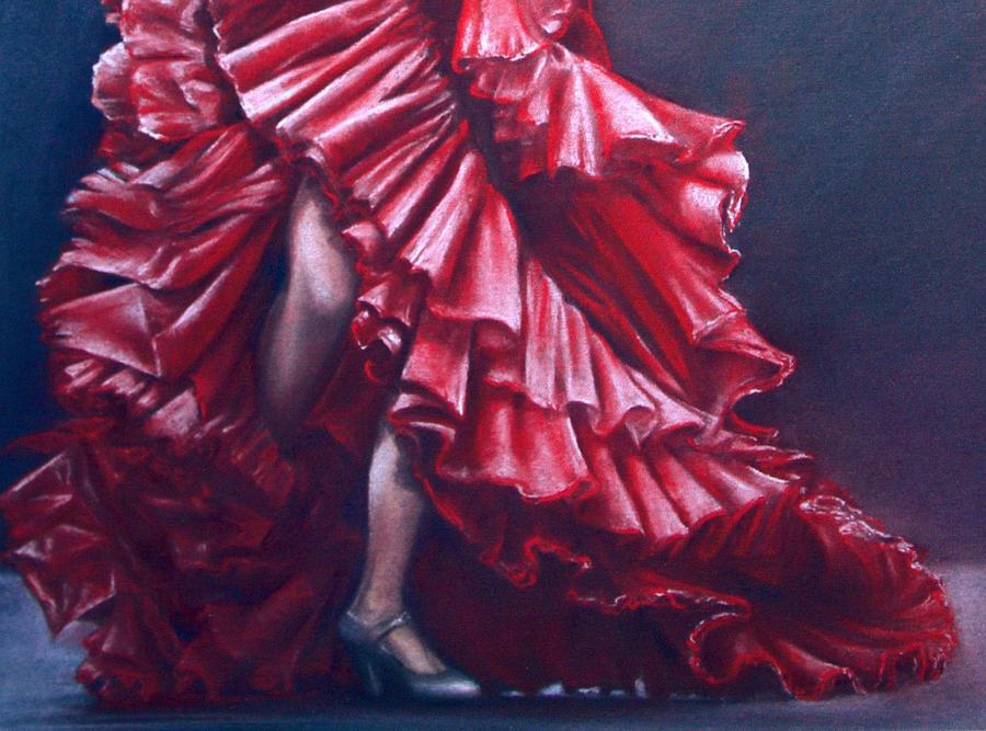 Andalucia Flamenco Painting