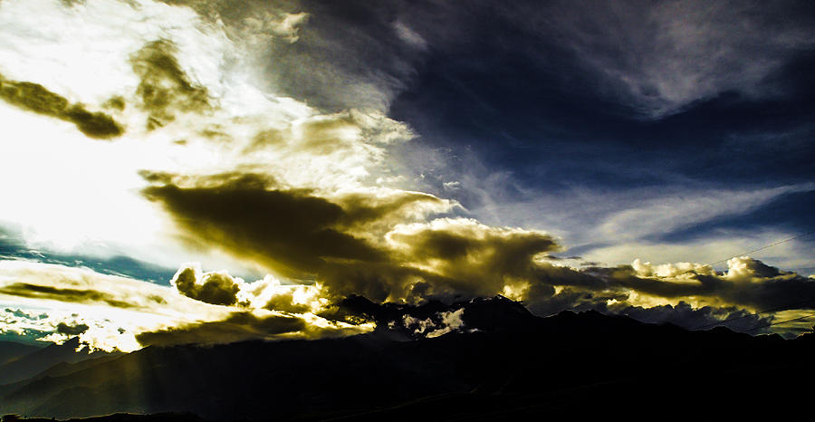 Andes Photograph - Andean Cloudwork by Tyler Lucas