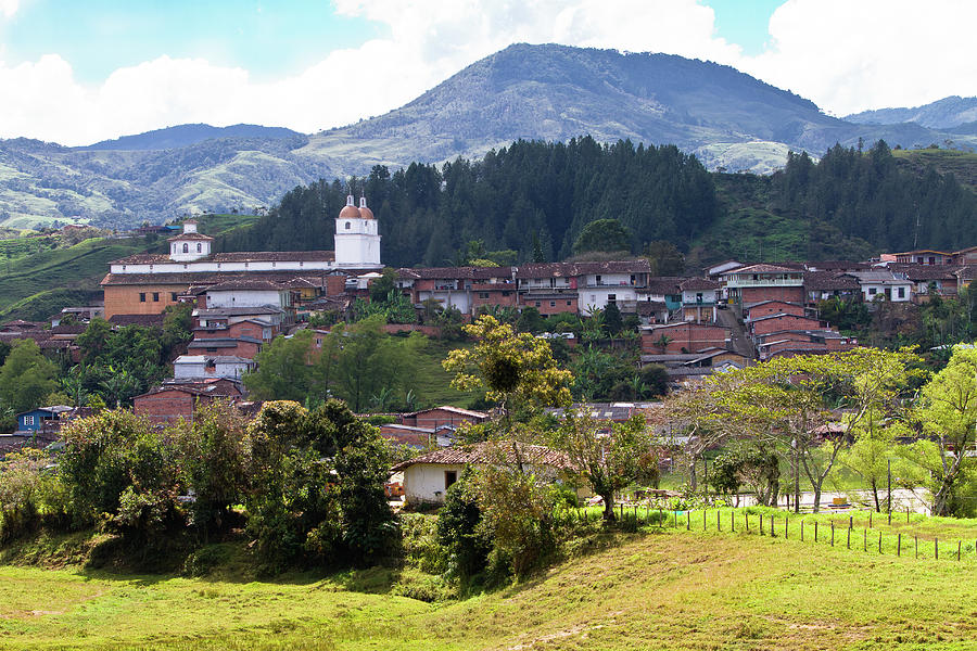 Andean Town Photograph by Alejocock